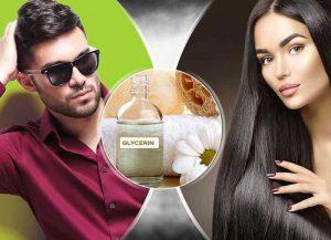 خواص گلیسیرین برای مو